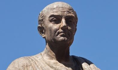 Statue of Lucius Annaeus Seneca the Younger,